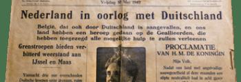 Duitsland valt Nederland binnen