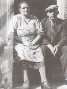 Israël Samuël en Hendrika Kropveld, begin jaren veertig (maker onbekend)