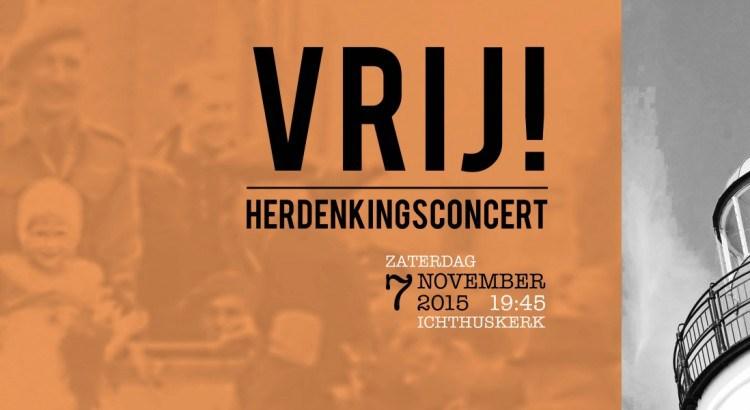 Herdenkingsconcert VRIJ! online