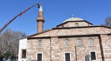 Akhisar Belediyesi, Paşa Caminin İbadete Açılması İçin Çalışıyor