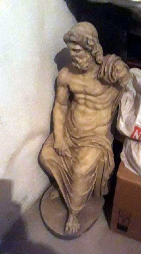 Helenistik Döneme Ait Zeus Heykelini Satmak İsterken Yakalandılar