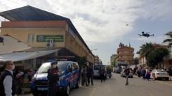 Karacasuda Dronla Ateş Ölçümü Salgına Karşı Etkili Oldu