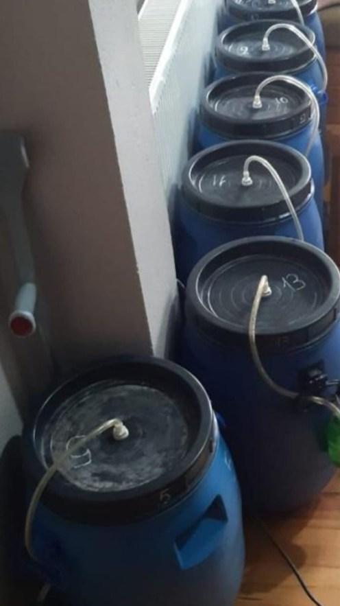 Evini Sahte İçki İmalathanesine Çeviren Şahıs Yakalandı