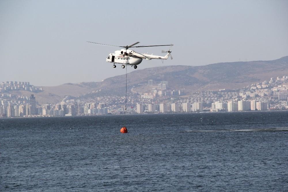 İzmir Balçovadaki Orman Yangını Kontrol Altında