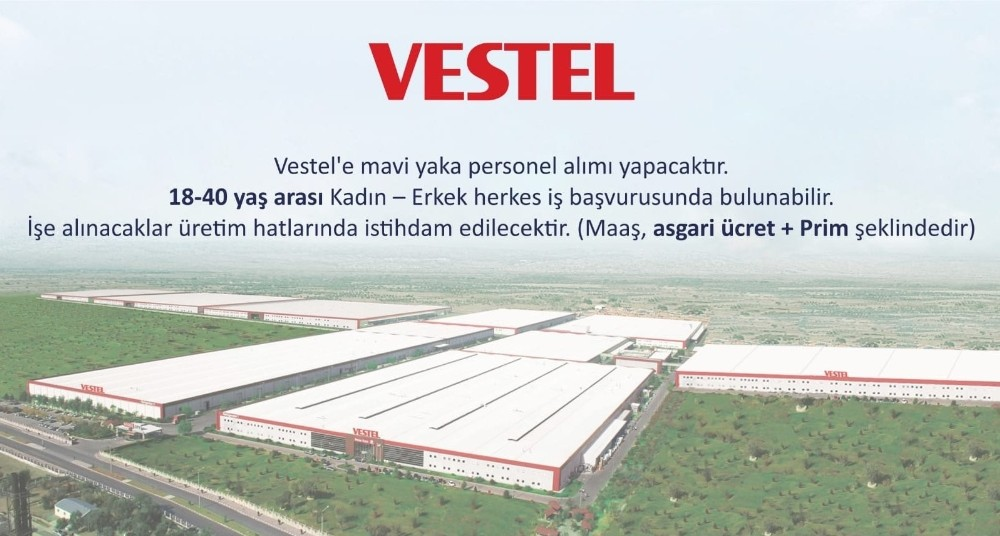 Salihli Belediyesi İle Vestel İşbirliğinde İş Arayanlara Müjde