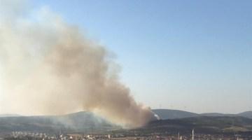 Somada Orman Yangını: 1 Uçak, 5 Helikopter Havadan Müdahale Ediyor