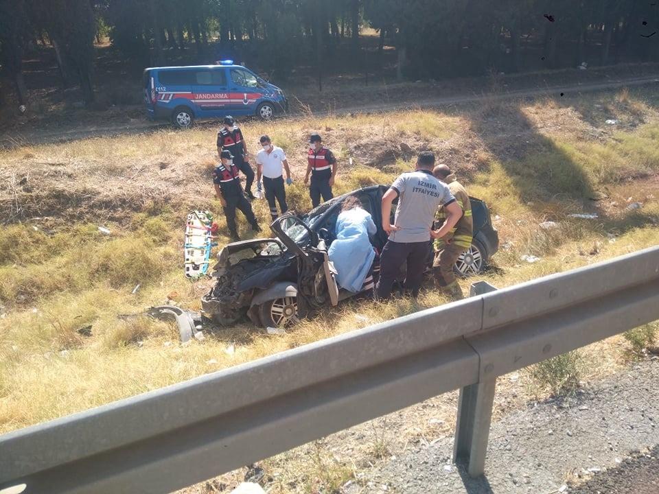 Direksiyon Başında Kalp Krizi Geçiren Sürücü Şarampole Yuvarlandı