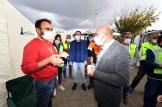 Başkan Soyerden Çadırdaki Depremzedelere Ziyaret