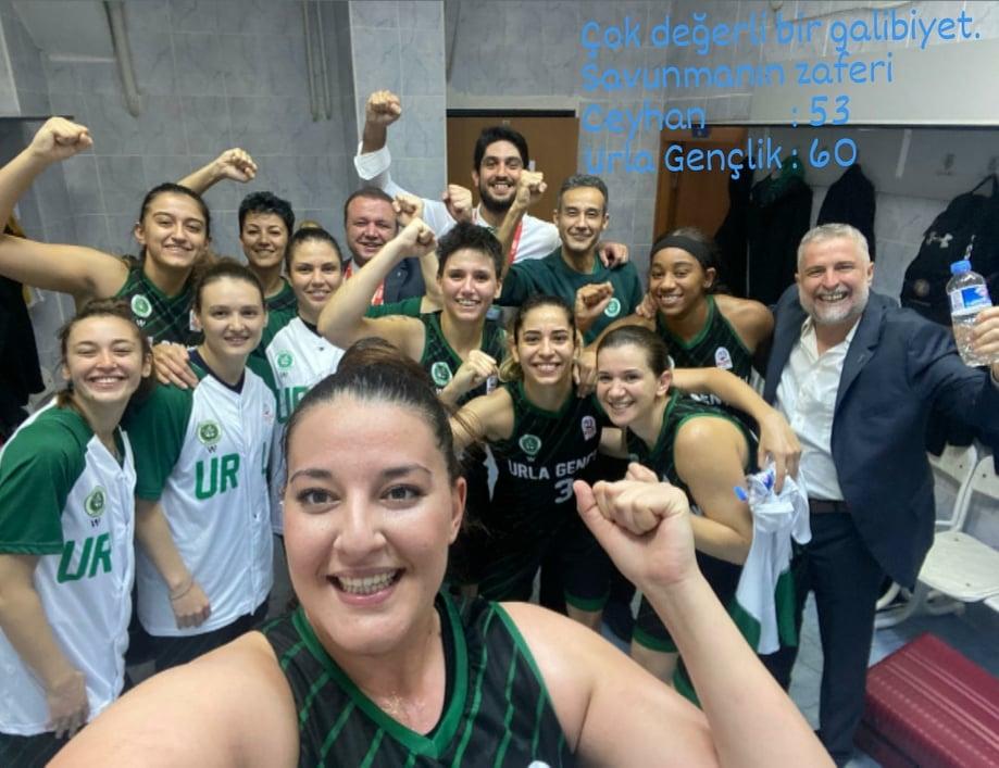 Urla Gençlik Spor Kulübü Kadın Basketbol Takımı Deplasmandan Galibiyetle Dönüyor