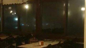 Urla Dolu Felaketinden Sonra Fırtına İle Boğuşuyor