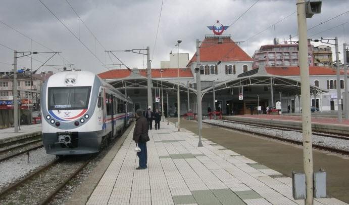 Basmane Tren Garı Seferlere Başlıyor
