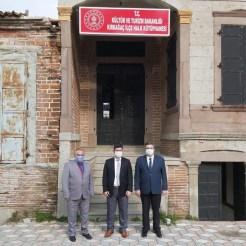 Kırkağaçta 149 Yıllık Tarihi Ev Kütüphane Oldu
