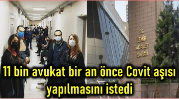 İzmir Adliyesi'nde 7 mahkeme karantinaya alındı
