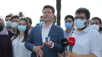 AK Gençler'den Başkan Soyer'e 'bir bardak su' tepkisi