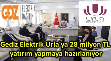 Gediz Elektrik Urla'ya 28 milyon TL yatırım yapmaya hazırlanıyor