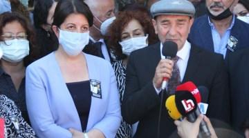 HDP İl Binasındaki saldırıda ölen Deniz Poyraz'ın cenazesinde kısa süreli gerginlik