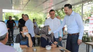 Mahmut Atilla KAYA'dan Seferihisar'a samimi ziyaret