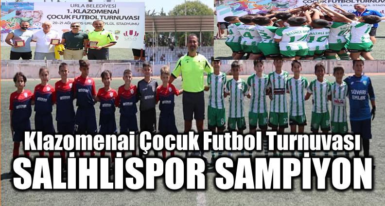Klazomenai Çocuk Futbol Turnuvası Final Maçı; Salihlispor:1 – Altınordu:0