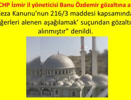 İzmirde Camilerden Müzik Yayınıyla İlgili Paylaşıma Gözaltı