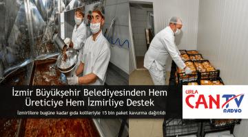İzmir Büyükşehir Belediyesinden Hem Üreticiye Hem İzmirliye Destek