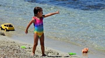 Ünlü Tatil Merkezinde Plajlar Tıklım Tıklım Doldu