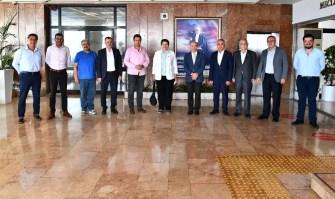 Chpnin Ege İl Başkanları Başkan Soyeri Ziyaret Etti