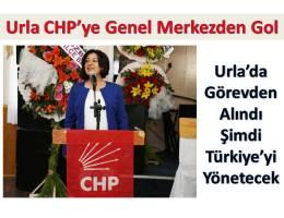 Urla CHP'ye, Genel Merkez'den 'Gol'