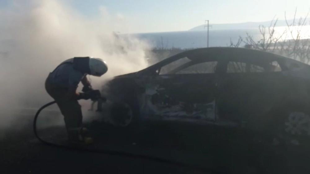 Seferihisar Belediye Baskanı Tezel, yangında 58 arac yandı.