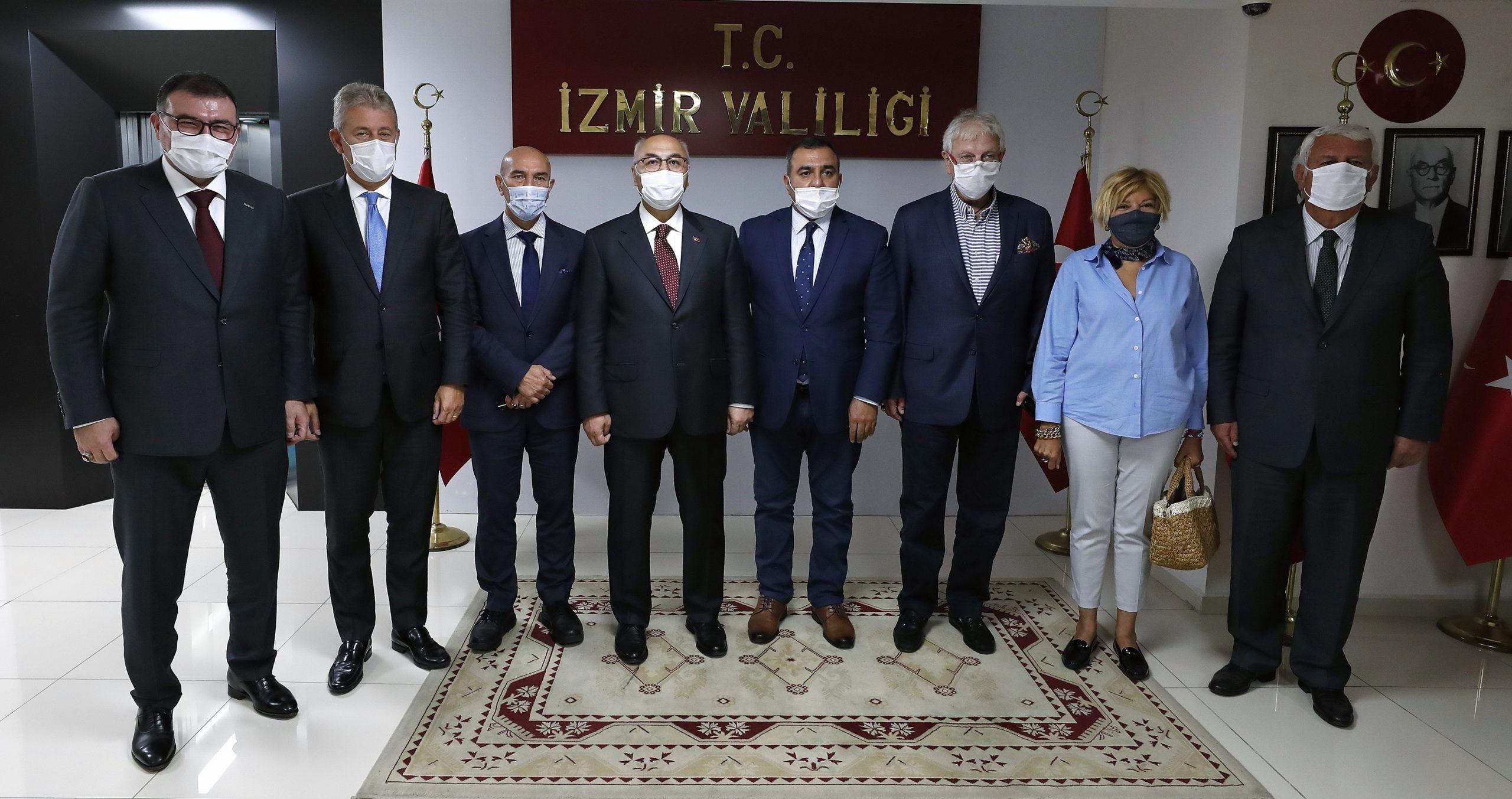 İzmirden Azerbaycana Destek Mesajı