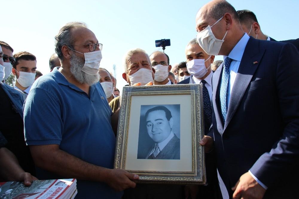 Bakan Soylu, Adnan Menderes Müzesinde İncelemelerde Bulundu