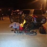 İzmirde Otomobil İle Motosiklet Çarpıştı: 1 Ölü, 1 Yaralı