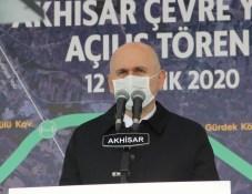 Akhisar Çevre Yolu Törenle Açıldı