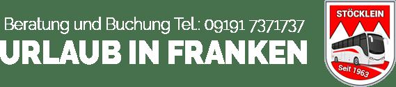 Beratung und Buchung - Urlaub in Franken