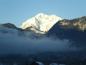 Der Salzberg im UNESCO WelterbeortHallstatt im Winter