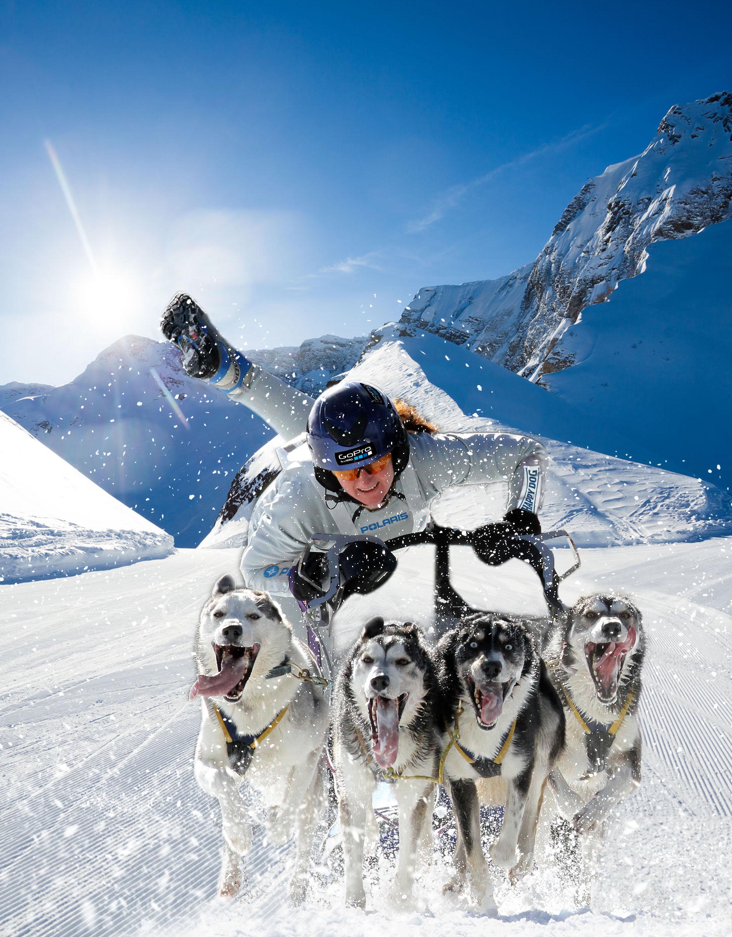 """Mit der """"Alpirace Sprint Trophy"""" findet in Mauterndorf ein Schlittenhunderennen der Superlative statt."""