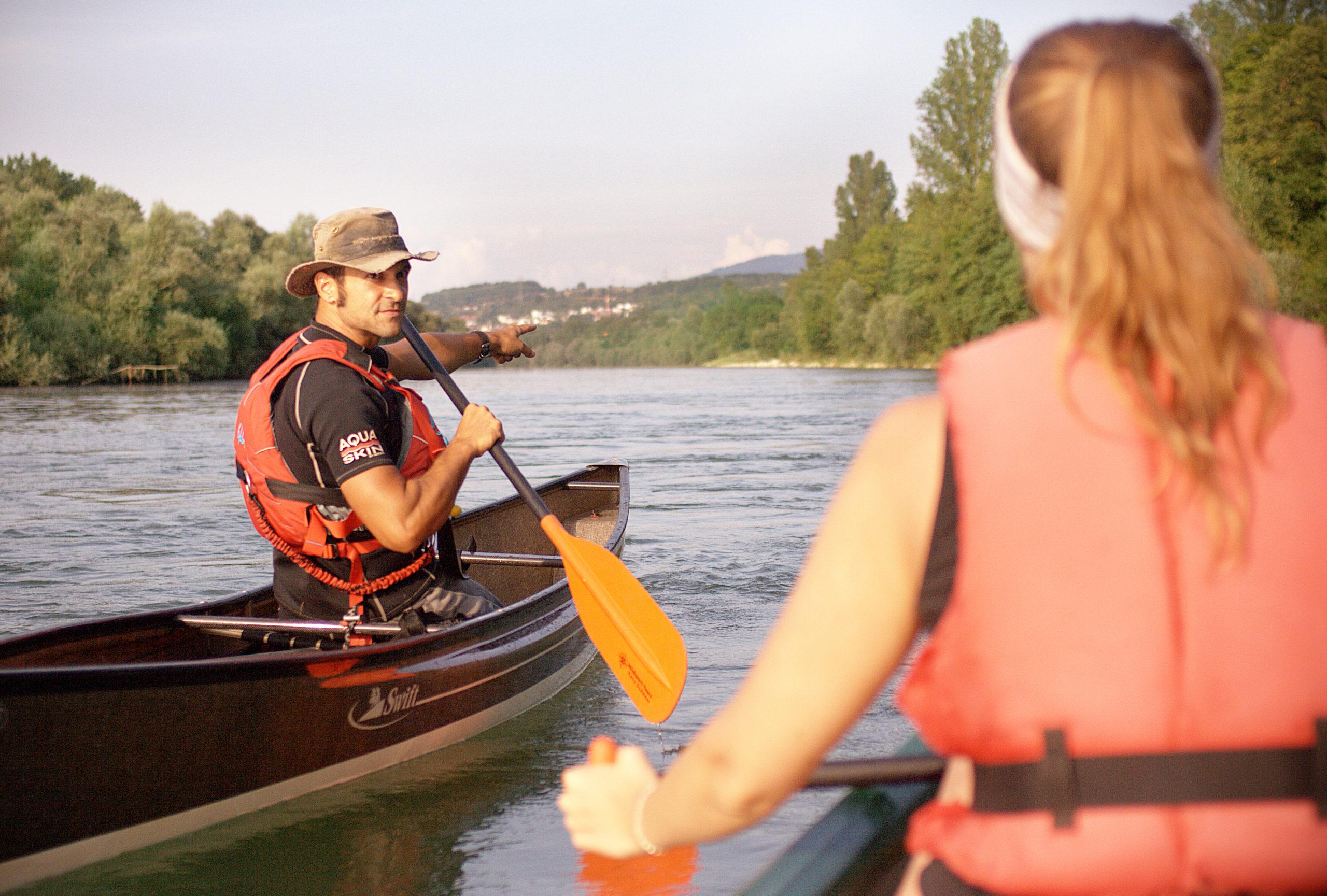 Naturschätze vom Kanu aus entdecken