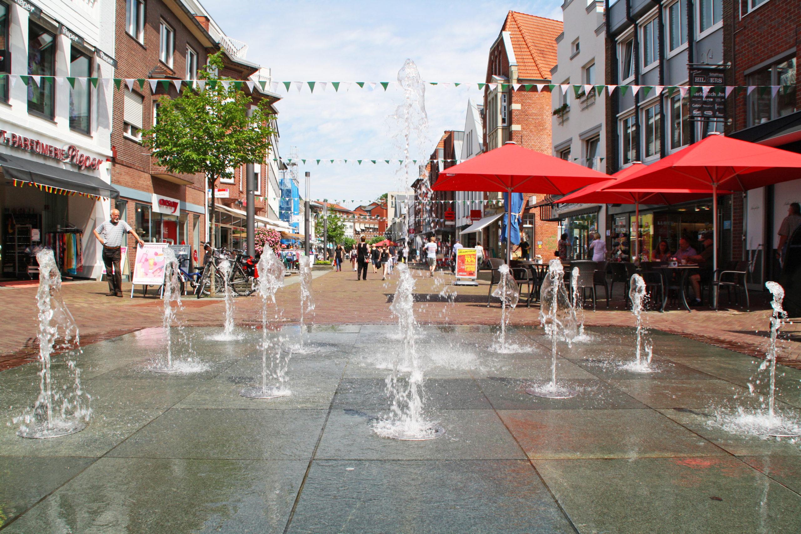 Wasserspielplatz in Nordhorn