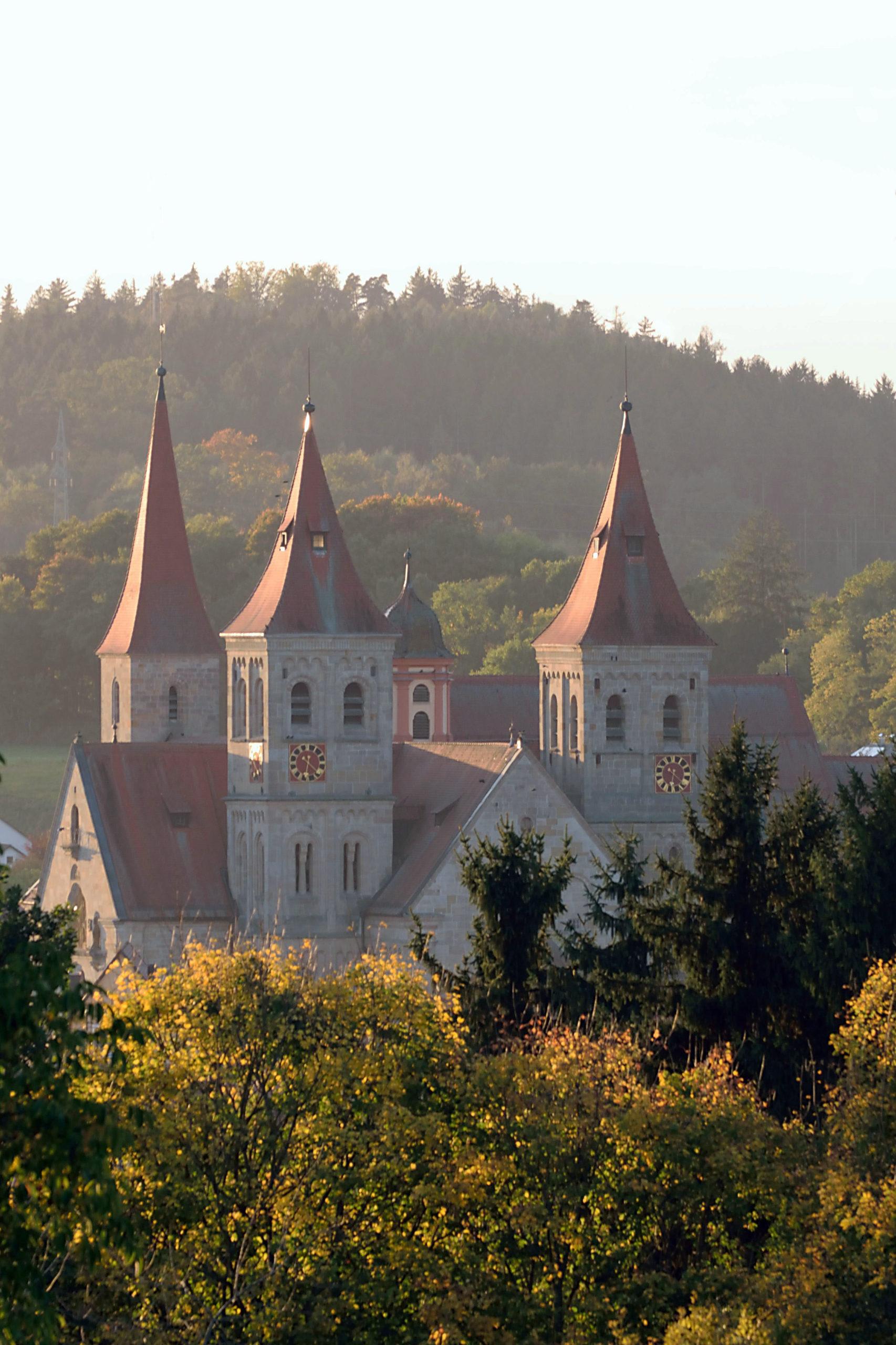 Kirchenbauten in und rund um Ellwangen