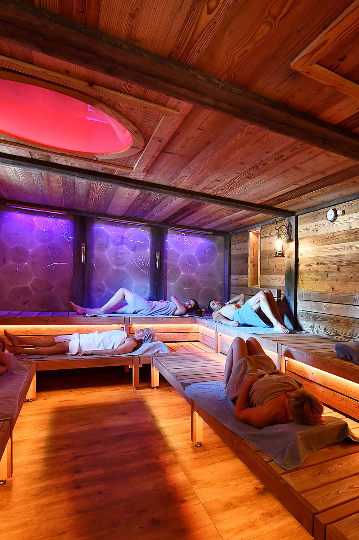 Sauna im Gradierwerk Bad Sassendorf