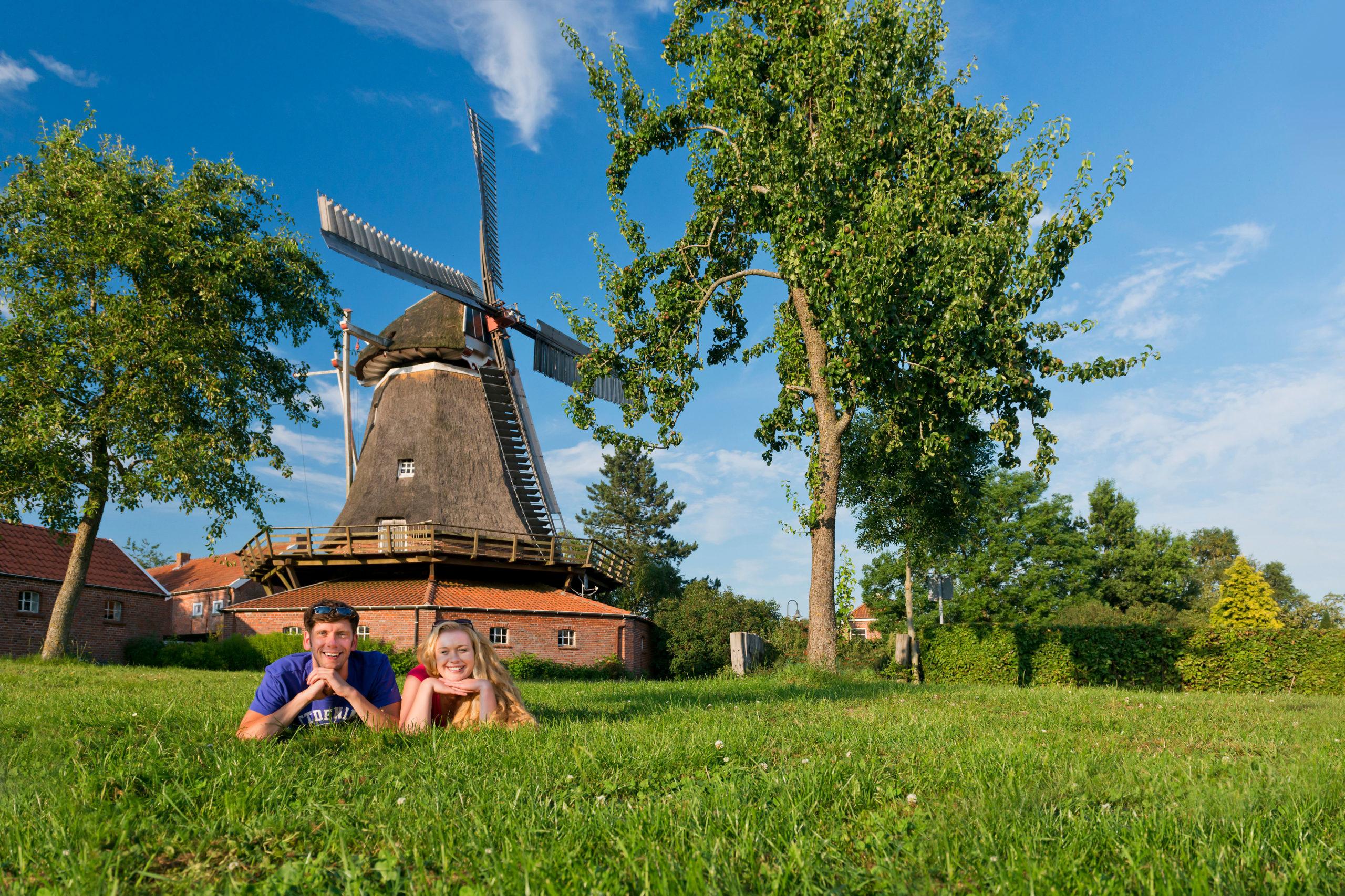 Windmühle im südlichen Ostfriesland