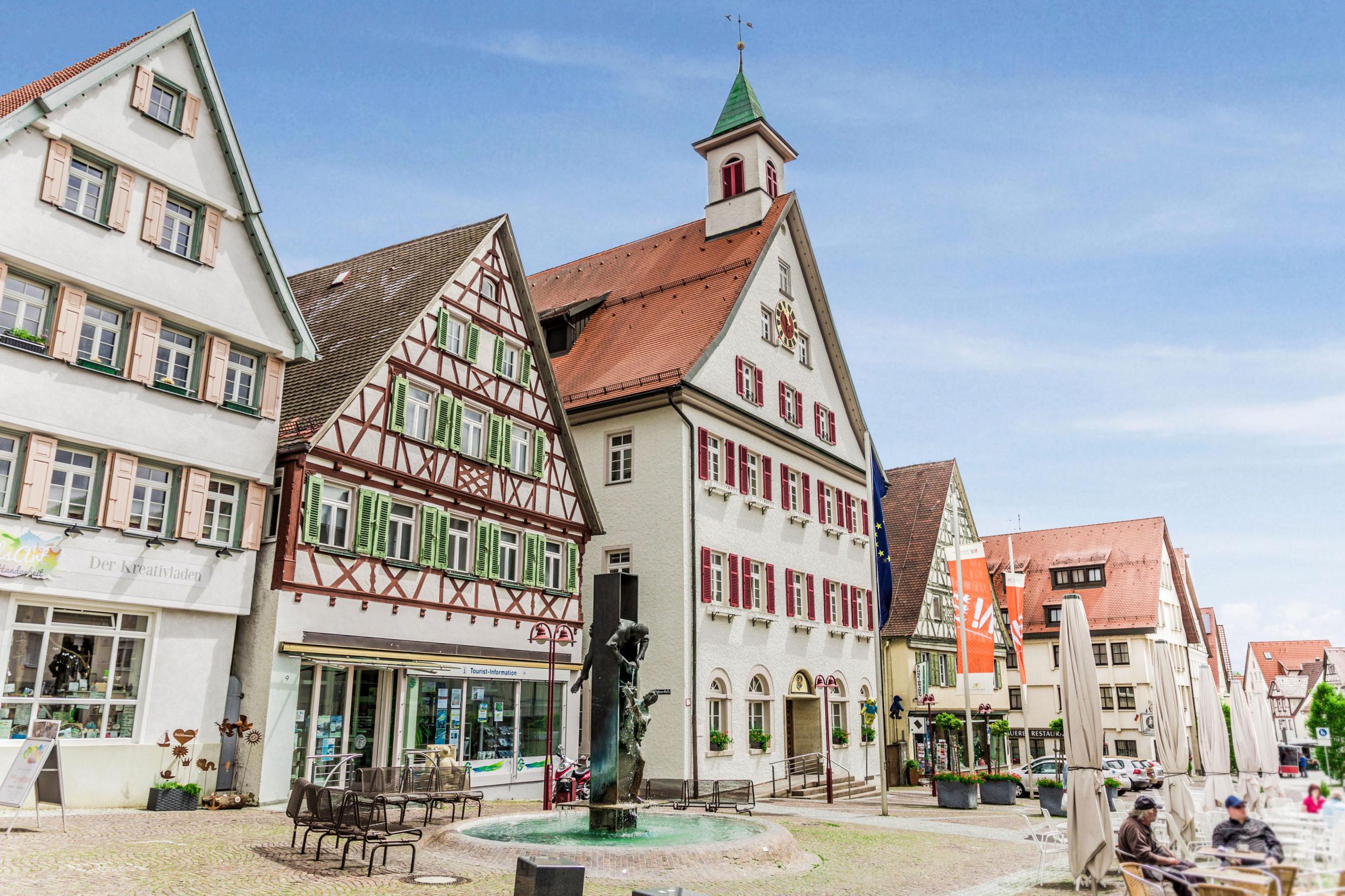 Altstadt in Giengen an der Brenz