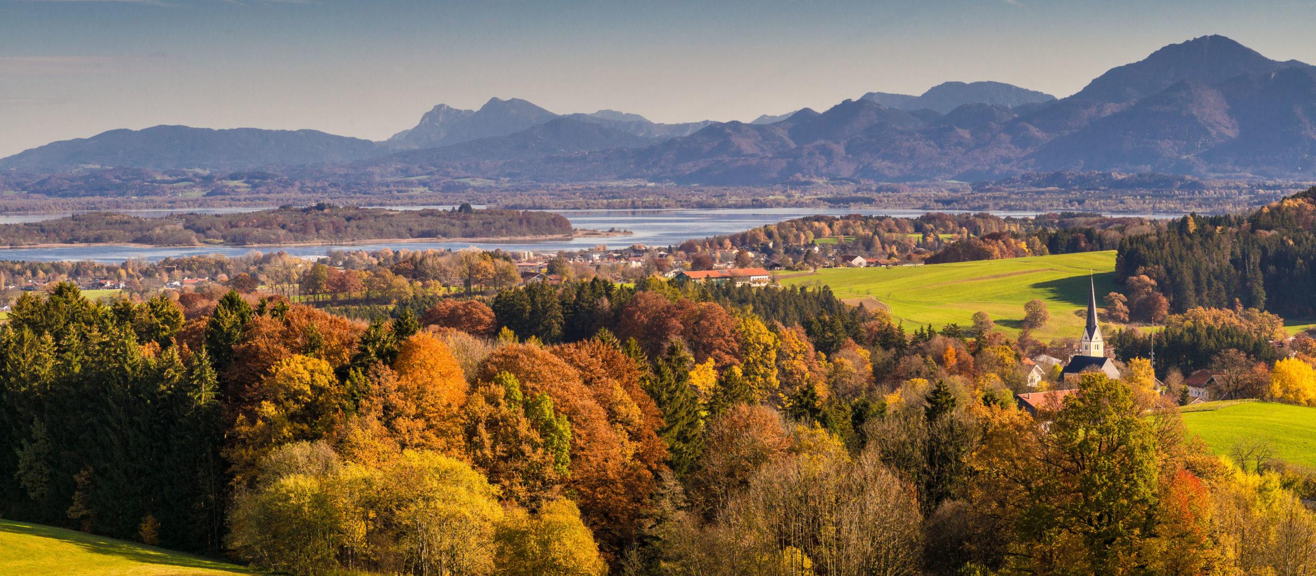 Herbstliches Wandern im Chiemgau