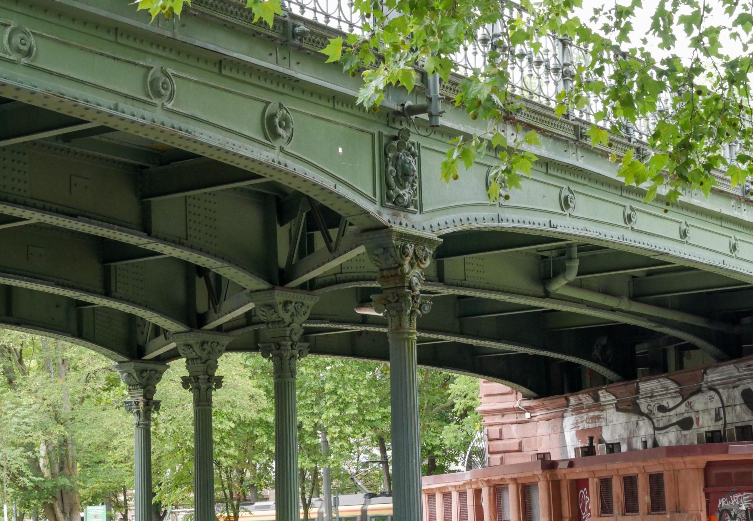 Brücke im Jugendstil