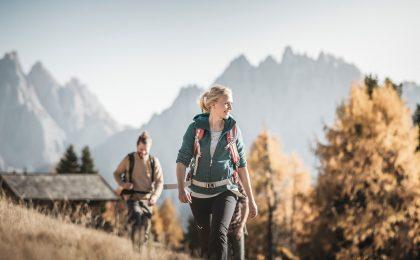 Wandern in Südtirol im Herbst