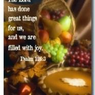 Fwd: Thanksgiving Fest