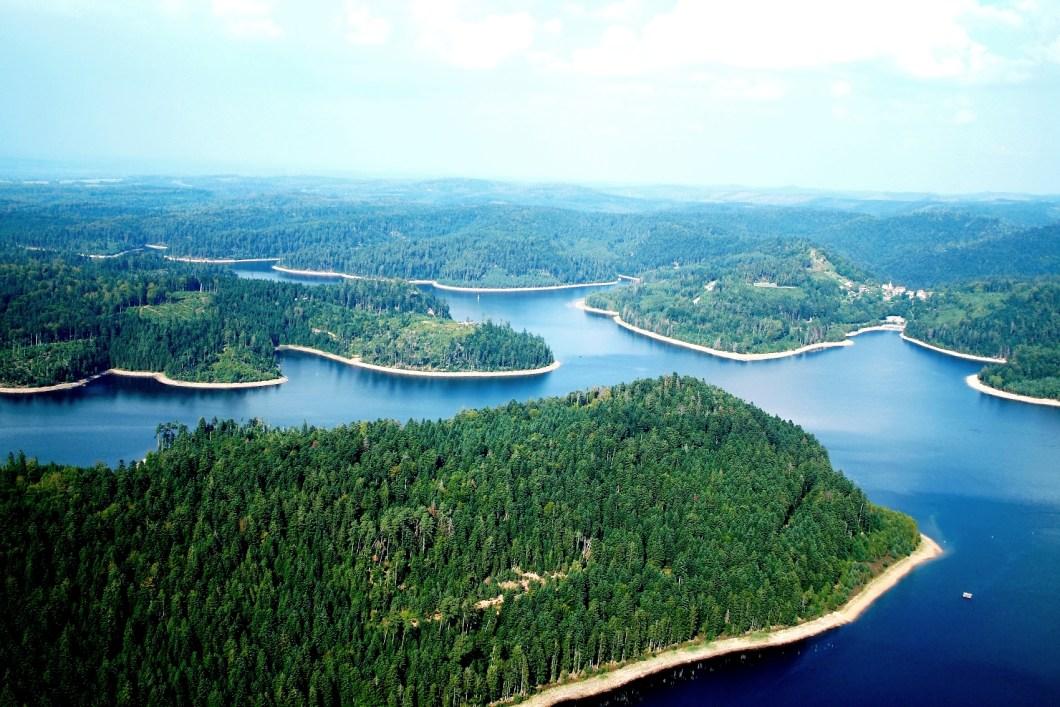 Le Lac de Pierre Percée