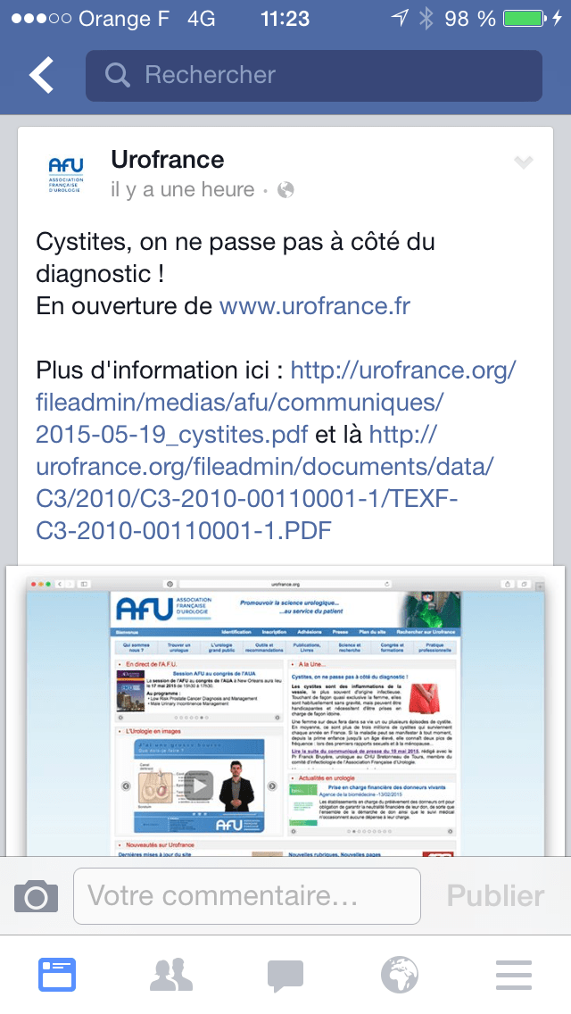 Cystites: causes, facteurs de risque, sexualite, prevention, traitement