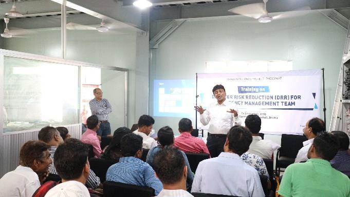 Training on Disaster Risk Reduction (DRR) for Emergency Management Team