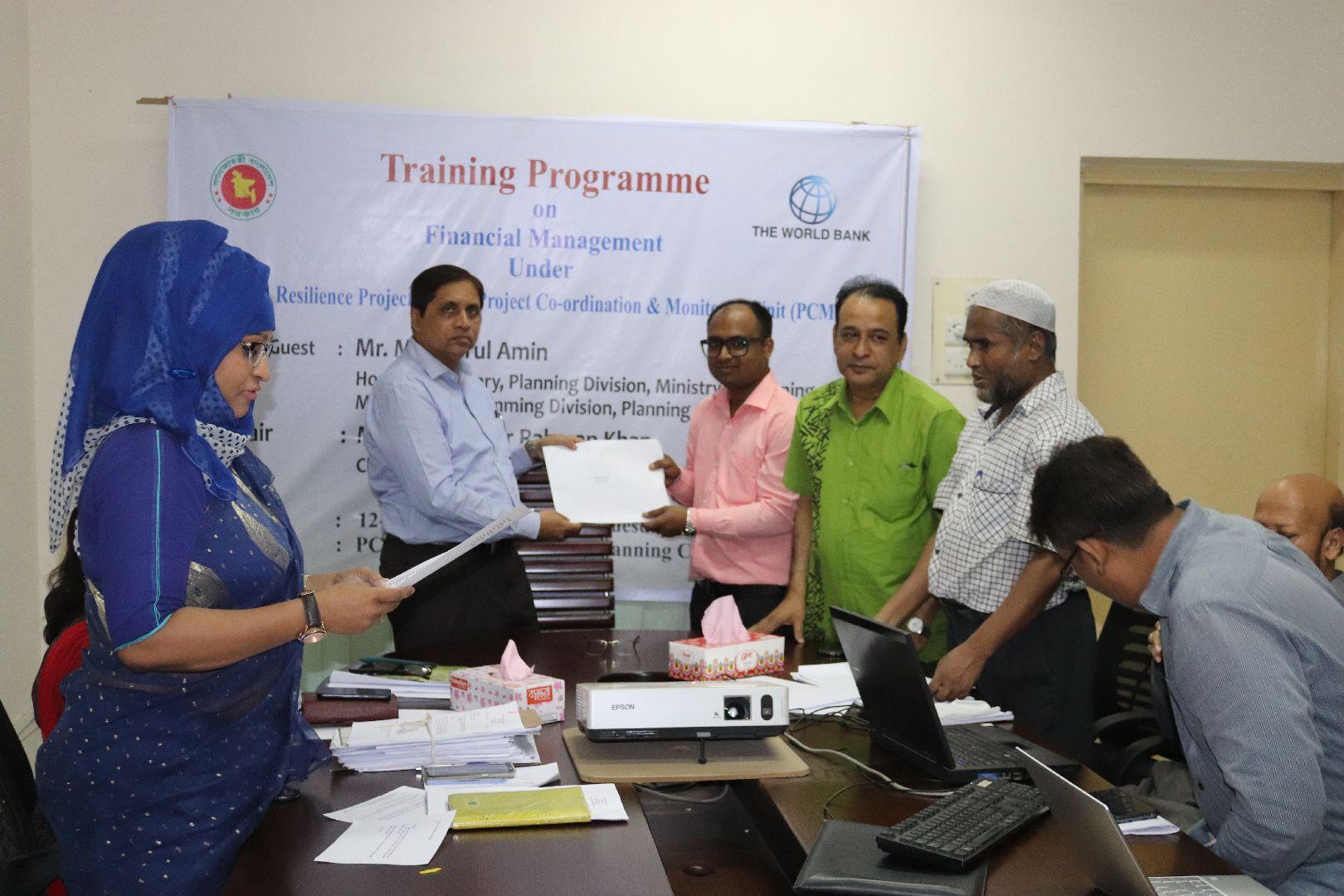 Training Programme on Financial Management Under URP-PCMU 29