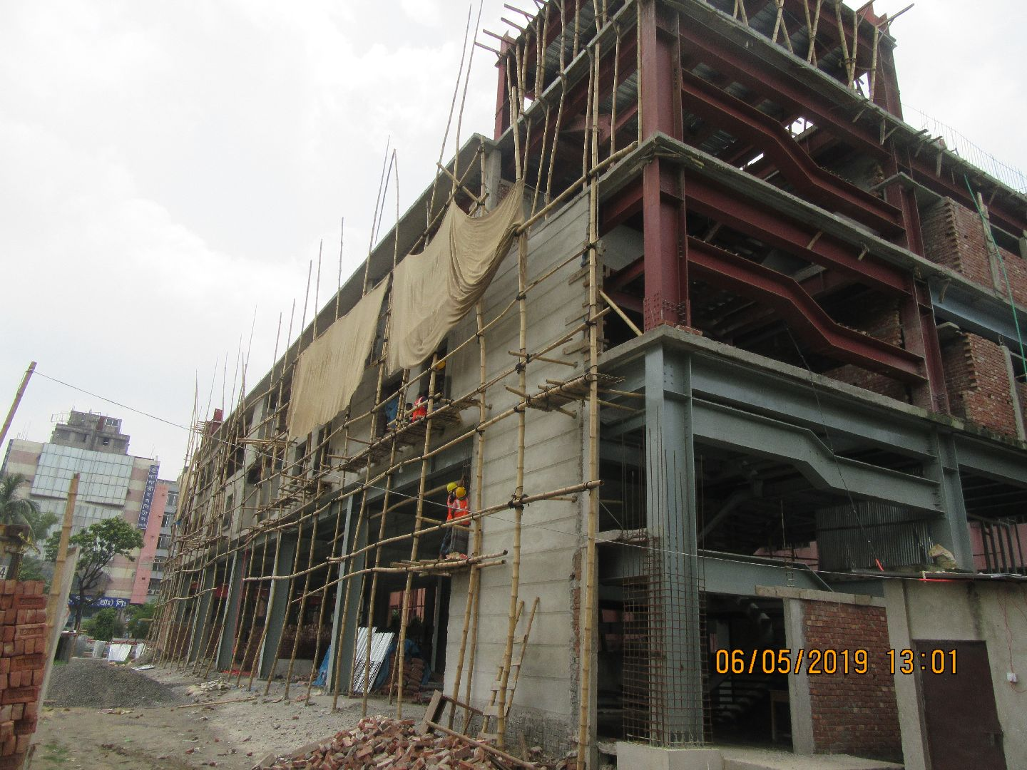Construction of Command & Control Center of FSCD in Mirpur10 (06-05-2019) (26)